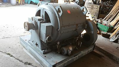 Ge Dynamometer   Hp Abs. 500  Hp Mtr. 470   1650/4000 Rpm 350 Vdc Type Tlf3654