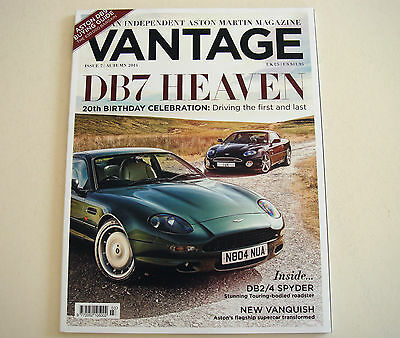 Aston Martin . Vantage Magazine . Issue 7. Autumn 2014
