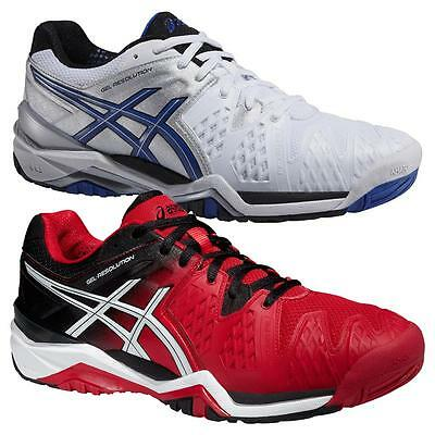 Asics Gel-Resolution 6 All Court men's tennis shoes trainers