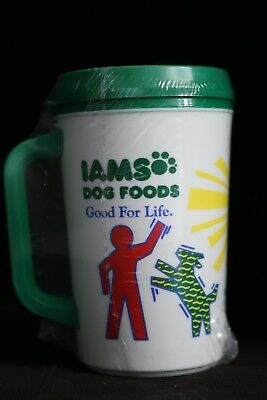 "Iams Dog Food ""Good For Life"" Travel Drink Mug"
