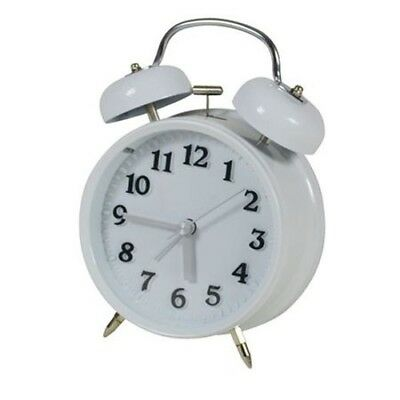 Nostalgia Alarm Clock Tabletop Watch Retro Travel Analog