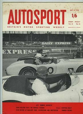 Autosport May 29th 1959 *Renault Floride Test*