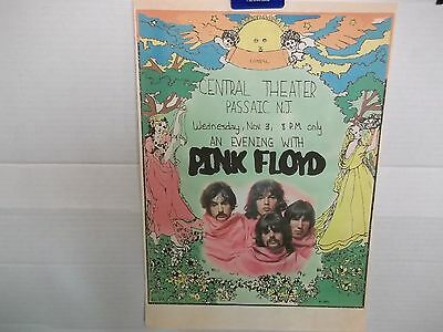 Pink Floyd,US,poster from Central Theater,1971, 90's reissue,super rare, MINT