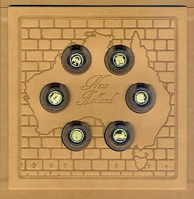 2011 Australian Convict Past Heritage Sites Gold Coin Collection