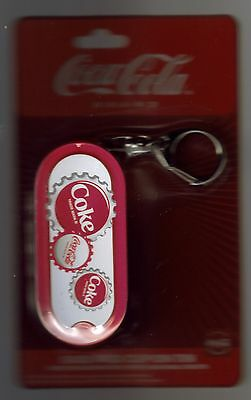 "Coca-Cola - Back Pack Clip-On Keychain— Tin Storage Box 3 1/2"" Pill Box"
