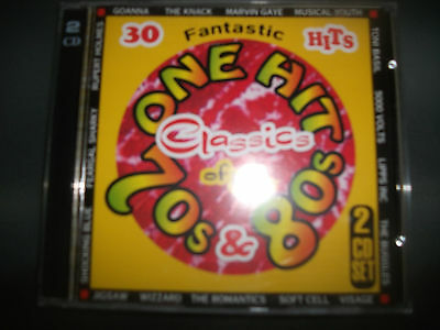 ONE HITS CLASSICS OF THE 70'S & 80'  - Various Artists  2 CD'S  THE KNACK,GOANNA