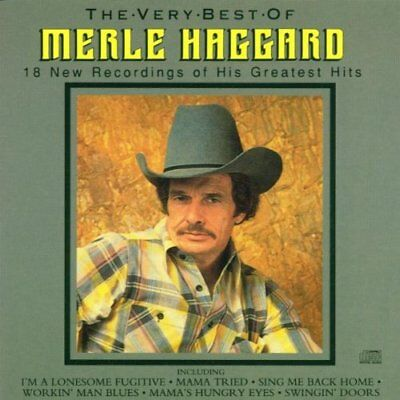 Merle Haggard - The Very Best of - Merle Haggard CD ODVG The Fast Free Shipping