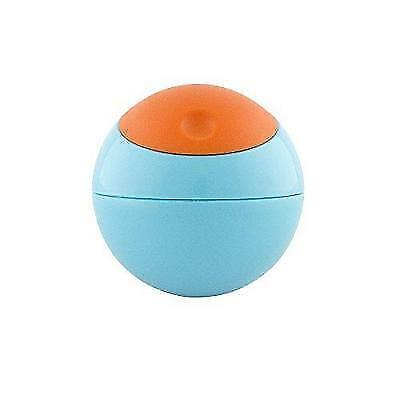 Boon Snack Ball Snack Container,Blue/Orange New