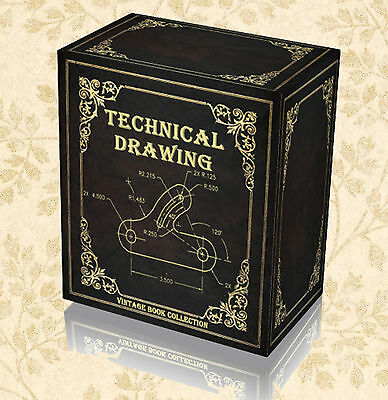 Rare Mechanical Technical Drawing Books on DVD - Machine Engineering Drafting G3