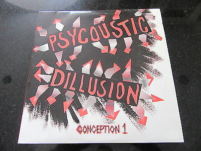 "V/A ""PSYCOUSTIC DILLUSION"" CONCEPTION 1 2 x LP RAVE HARDCORE"