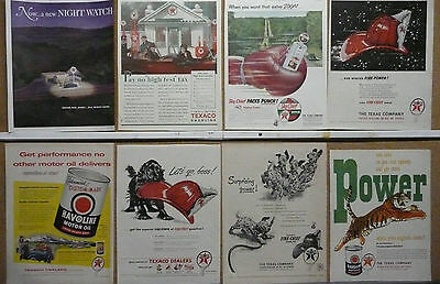 Texaco Oil and Gas Ad Lot (15) 1924-1959