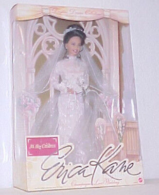 Susan Lucci Erica Kane Doll Champagne Lace Wedding Daytime Drama Collection 1999