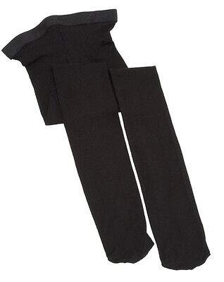 NEW Capezio N14C Hold and Stretch Footed Tights Ballet Childs sz S Black