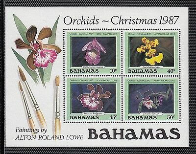 VB113 BAHAMAS #639a SOUVENIR SHEET OF STAMPS - MINT OG NH VF $13.00