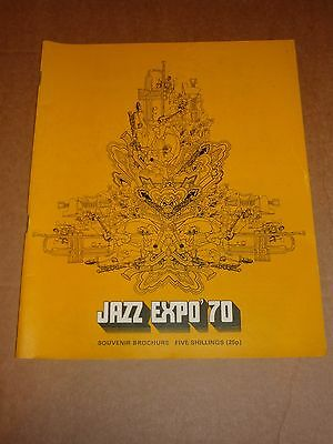 Jazz Expo '70 1970 Concert Programme (Ray Charles/Dave Brubeck/Willie Dixon)
