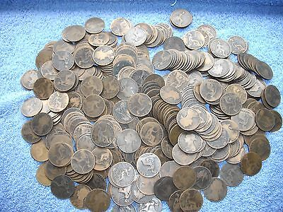 Queen Victoria large collection coins pennies over 400