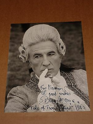Barry Morse ('A Tale Of Two Cities') 10 x 8 1980 Photograph (Hand Signed)