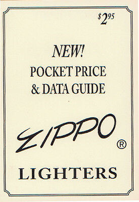 Books Zippo Collector's Guide 27 page booklet with collector info about Zippo l