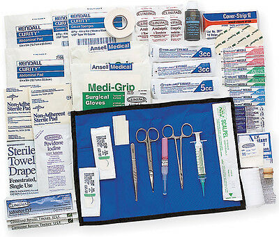 Adventure Medical Travel Suture/Syringe Kit Knife 0130-0567 This field surgical