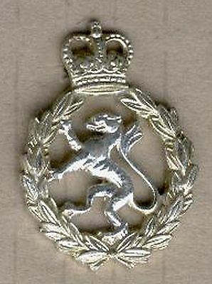 Military Great Britain Womens Royal Army Corps Hat Badge . Qe11