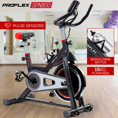 NEW PROFLEX Spin Bike - Exercise Commercial Flywheel Gym Home Fitness Equipment