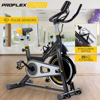 NEW PROFLEX Spin Bike - Exercise Commercial Flywheel Gym Home Equipment Fitness