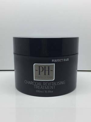 Perfect Hair Charcoal Revitalising Treatment 500ml by PIERRE HADDAD