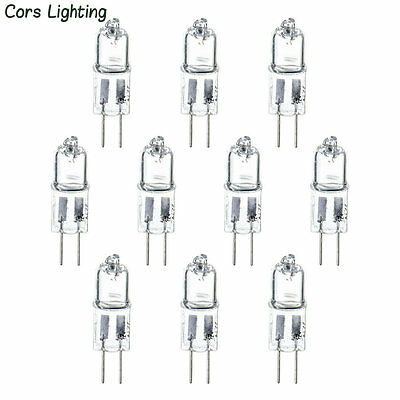 10pcs G4 12V 20W 20watt Halogen Light Lighting Lamp Bulb, US Ship