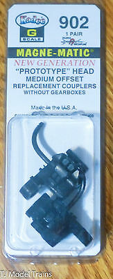 Kadee #902 (G Scale) Prototype / Head Medium Offset Replacement Couplers
