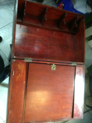 Antique Writing Slope Box For Restoration REDUCED