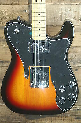 Fender Squier Vintage Modified Telecaster Custom Electric Guitar - 3TSB NEW