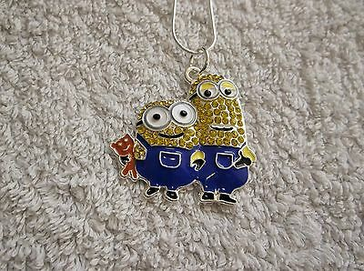 MINION MOVIE Inspired Large Charm NECKLACE Despicable Me 2