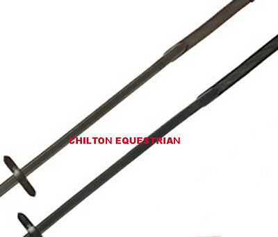 Sheldon  Super Grip Slim Rubber Reins - Full Size -  Brown Or Black