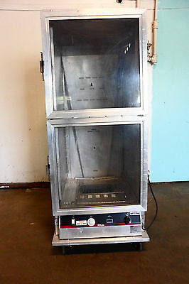 "Heavy Duty Commercial  Electric "" Bevles "" Food Warmer Proffer Castered Cabinet"
