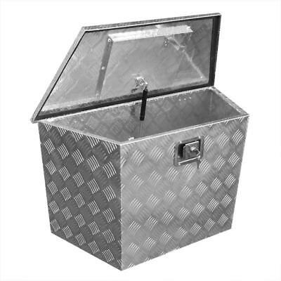 Aluminum Chest with Castle Tool Box deichselbox Transport Crate Pendant