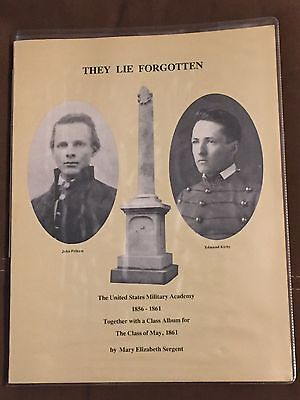 2 Books on West Point / Civil War: They Lie Forgotten & An Unremaining Glory