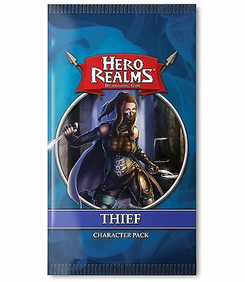 Thief Hero Realms 15 Card Booster #4 White Wizard Games WWG 504 Game Expansion