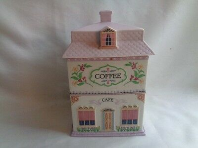 Lenox  Village Coffee Canister 1990