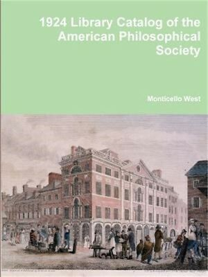 Library Catalog of the American Philosophical Society (Paperback or Softback)