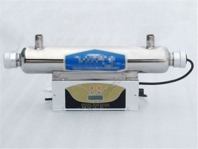 Uv Sterilizer,Pure Water Clarifier / Purifier For Home,Lab&Med Use 1500L/Hour Q