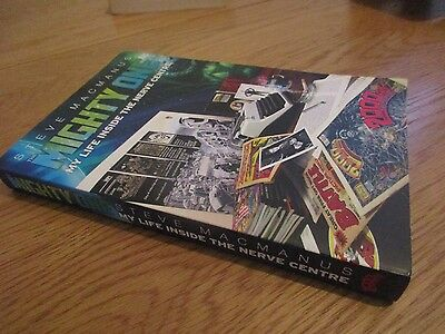 Mighty One, Steve McManus, THARG, 2000AD,  paperback book memoir judge dredd