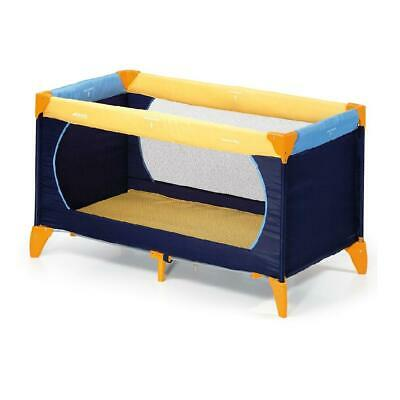 Hauck Dream'n'Play Travel Cot 120x60cm (Yellow/Blue/Navy) - ON SALE! was £59.99