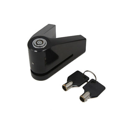 Black Aluminum Alloy Triangle Style Anti Thief Security Disc Lock for Motorbike