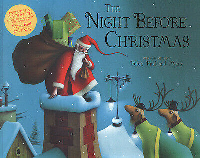 The night before Christmas by Clement C. Moore (Paperback) Fast and FREE P & P