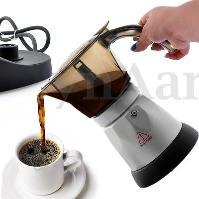 Coffee Maker Home Automatic Handmade Stainless Steel 4-Cup Coffeemaker Machine