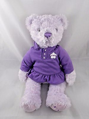 "FAO Purple Bear Plush 15"" Toys R Us"