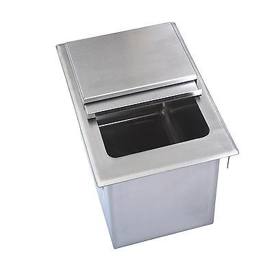 "BK Resources BK-DIBL-1218 12""Wx18""Dx14-3/8""D Stainless Steel Drop-In Ice Bin"