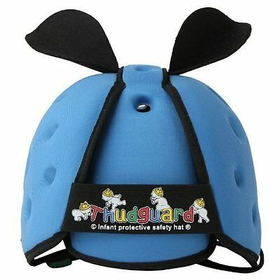 New Thudguard Baby Safety Protective Head Gear Helmet Hat - Blue