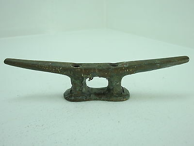6+1/16 Inch Wilcox Crittenden Bronze Cleat Ship Sail Boat Dock Brass (#1809)