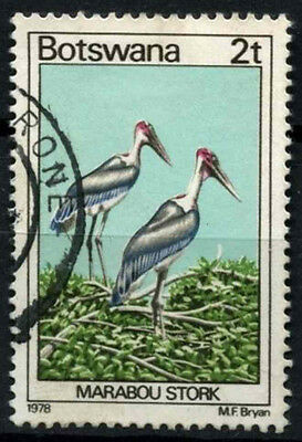 Botswana 1978 SG#412, 2t Birds Definitive Used #D48942